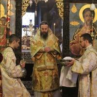 Заупокойна литургия за патриарх Максим в Троянската света обител_10