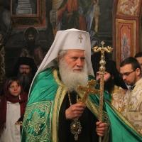 Заупокойна литургия за патриарх Максим в Троянската света обител_3