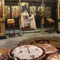 Заупокойна литургия за патриарх Максим в Троянската света обител_4