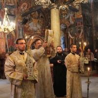 Заупокойна литургия за патриарх Максим в Троянската света обител_9