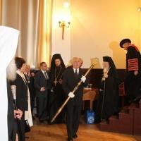 """Вселенският патриарх Вартоломей бе удостоен с почетното научно звание """"Доктор хонорис кауза"""" на БАН_10"""