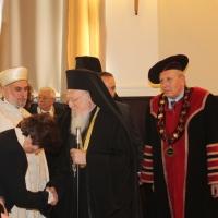 """Вселенският патриарх Вартоломей бе удостоен с почетното научно звание """"Доктор хонорис кауза"""" на БАН_1"""