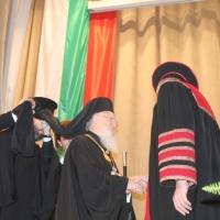 """Вселенският патриарх Вартоломей бе удостоен с почетното научно звание """"Доктор хонорис кауза"""" на БАН_5"""