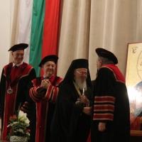 """Вселенският патриарх Вартоломей бе удостоен с почетното научно звание """"Доктор хонорис кауза"""" на БАН_6"""
