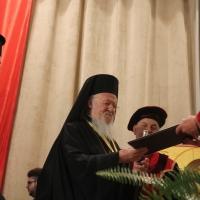 """Вселенският патриарх Вартоломей бе удостоен с почетното научно звание """"Доктор хонорис кауза"""" на БАН_7"""