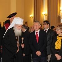 """Вселенският патриарх Вартоломей бе удостоен с почетното научно звание """"Доктор хонорис кауза"""" на БАН_9"""