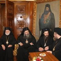 Официален прием на Вселенския патриарх Вартоломей в Синодалната палата_3