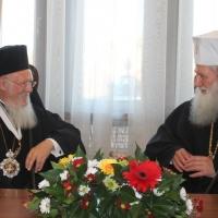 Официален прием на Вселенския патриарх Вартоломей в Синодалната палата_7