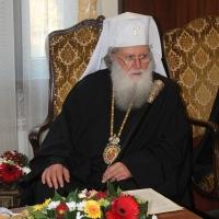 Официален прием на Вселенския патриарх Вартоломей в Синодалната палата_9