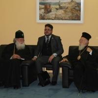 Изпращане на Вселенския патриарх Вартоломей - 10-11-2015_1