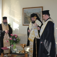 Кметът на София Йорданка Фандъкова получи благословение от Негово Светейшество Българския патриарх и Софийски митрополит Неофит_4