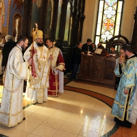 Втора неделя след Петдесетница, на Всички български светии, в столичния храм