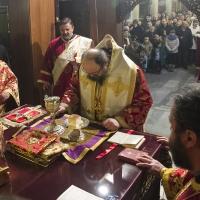 Храмов празник и офикия в столичния храм