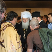 На празника на св. Наум Охридски Българският патриарх Неофит се помоли за обществен мир_1