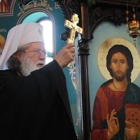 На празника на св. Наум Охридски Българският патриарх Неофит се помоли за обществен мир_2