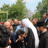 На празника на св. Наум Охридски Българският патриарх Неофит се помоли за обществен мир_3