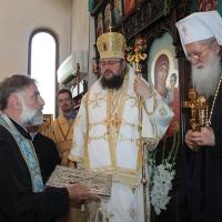 На празника на св. Наум Охридски Българският патриарх Неофит се помоли за обществен мир_4