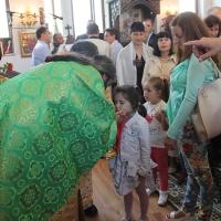 На празника на св. Наум Охридски Българският патриарх Неофит се помоли за обществен мир_8