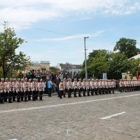 Българският патриарх Неофит освети новопостроения паметник на цар Самуил_7
