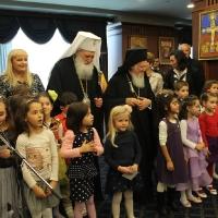 Вселенският патриарх Вартоломей и Българският патриарх Неофит, благословиха децата на загиналите полицаи в България_8