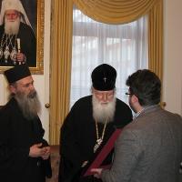 Светогорски монаси при Негово Светейшество патриарх Неофит_10