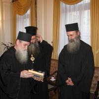 Светогорски монаси при Негово Светейшество патриарх Неофит_11