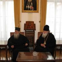 Светогорски монаси при Негово Светейшество патриарх Неофит_1