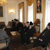 Светогорски монаси при Негово Светейшество патриарх Неофит_3