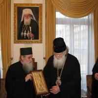 Светогорски монаси при Негово Светейшество патриарх Неофит_5