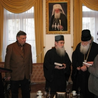 Светогорски монаси при Негово Светейшество патриарх Неофит_7