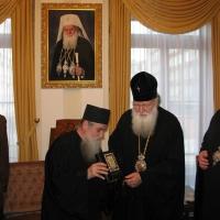 Светогорски монаси при Негово Светейшество патриарх Неофит_8