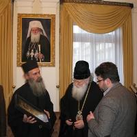 Светогорски монаси при Негово Светейшество патриарх Неофит_9