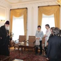 Българският патриарх Неофит се срещна с деца от Движението на фоколарите_10