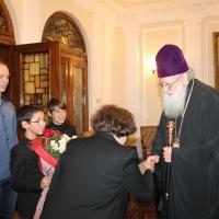 Българският патриарх Неофит се срещна с деца от Движението на фоколарите_2