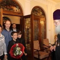 Българският патриарх Неофит се срещна с деца от Движението на фоколарите_3