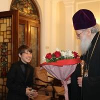 Българският патриарх Неофит се срещна с деца от Движението на фоколарите_4