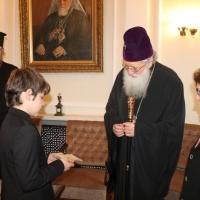 Българският патриарх Неофит се срещна с деца от Движението на фоколарите_5