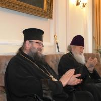 Пасхален поздрав от децата на Горна Малина за Българския патриарх Неофит_12