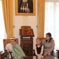 Пасхален поздрав от децата на Горна Малина за Българския патриарх Неофит_14