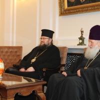 Пасхален поздрав от децата на Горна Малина за Българския патриарх Неофит_6