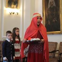 Пасхален поздрав от децата на Горна Малина за Българския патриарх Неофит_8