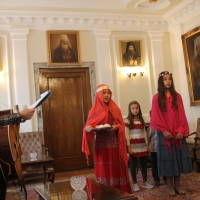 Пасхален поздрав от децата на Горна Малина за Българския патриарх Неофит_9