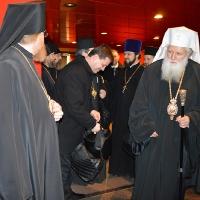 Българският патриарх Неофит пристигна в Москва_2