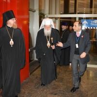 Българският патриарх Неофит пристигна в Москва_3