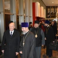 Българският патриарх Неофит пристигна в Москва_4