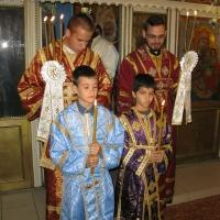 Браницкият еп. Григорий възглави неделната литургия в Горубленския храм