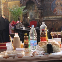 Браницкият еп. Григорий отслужи първата преждеосвещена литургия _10