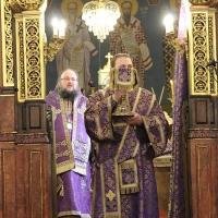 Браницкият еп. Григорий отслужи първата преждеосвещена литургия _4