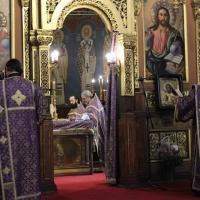 Браницкият еп. Григорий отслужи първата преждеосвещена литургия _5