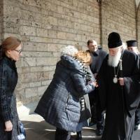 Браницкият еп. Григорий отслужи първата преждеосвещена литургия _6